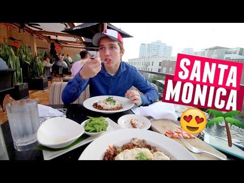 SANTA MONICA BEACH DATE WITH MATT :)