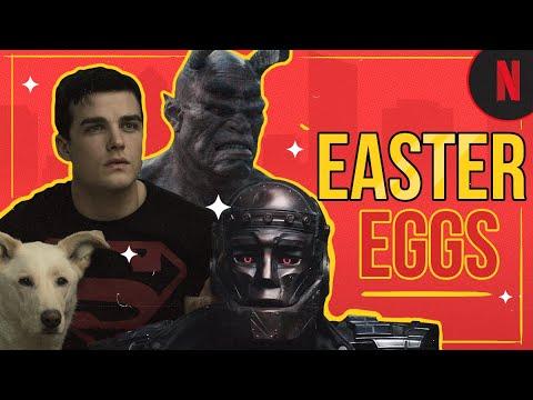 Los mejores easter eggs en Titanes