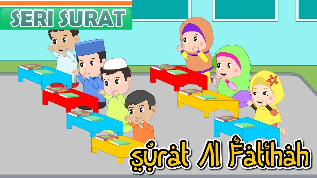 Surat Al Fatihah Adem Dan Merdu Sekali Anak Islam Bersama Jamal Laeli