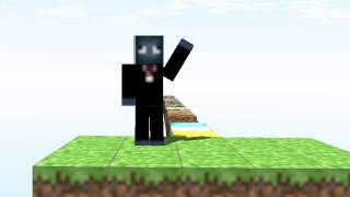 Minecraft - Jump and Wave (Animation)