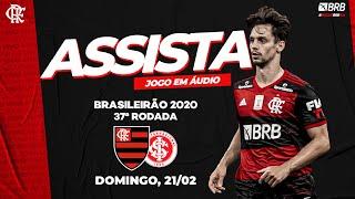 Flamengo x Internacional AO VIVO na Fla TV   Brasileirão 2020