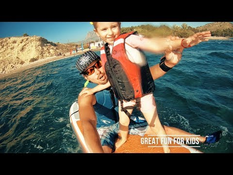 Testing LAGOON SUP and KAYAK Electric motor propulsion system (Part14