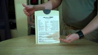 Attaching the Resume to Your Picture