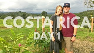 Costa Rica Vacation Vlog Day 1 | Travel on a Budget