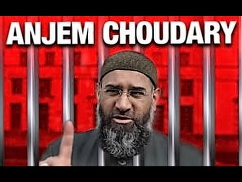 Where is the hate preacher Anjem Choudary?