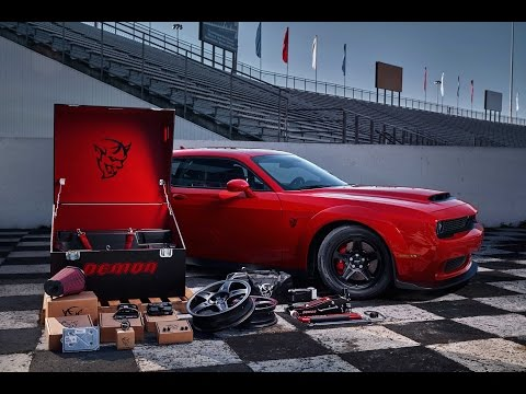 2018 Dodge Demon: Forget AWD; New Video Confirms RWD