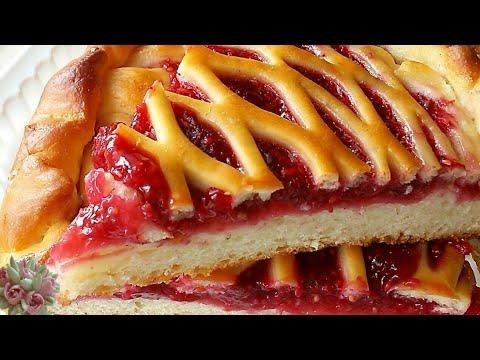 Вопрос: Как приготовить бананово малиновый пирог?