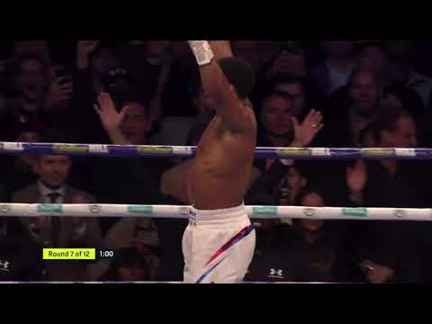 Anthony Joshua vs Alexander Povetkin Highlights Recap