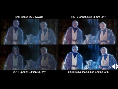 ORIGINAL Funeral Pyre/Celebration   Return Of The Jedi (1983) [DeEd, Blu-ray, GOUT, LPP]