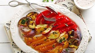"Grilled Vegetables With Niçoise ""aïoli"""