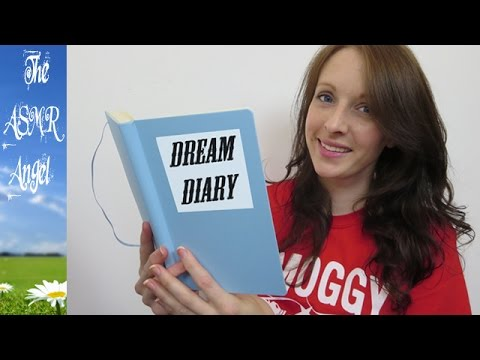 My Dream Diary Whispered Ear to Ear ASMR    (binaural)
