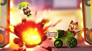 БИТВА КОТЯТ Мультяшная игра для детей Боевые Машинки Мультики CATS: Crash Arena Turbo Stars
