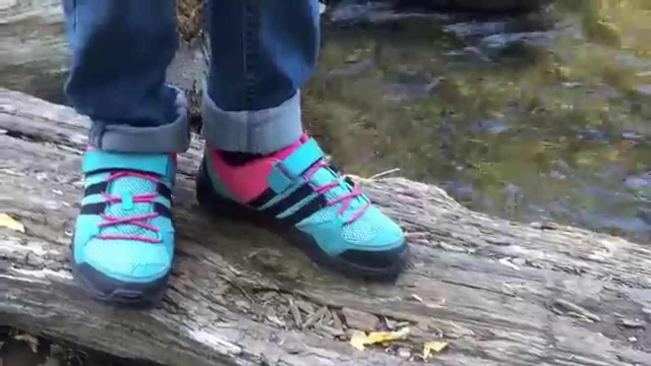 Kids Hiking- Adidas AX2 CF Shoes - YouTube 30401090be5