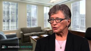 Targeted therapy-related vs chemo-induced oral mucositis