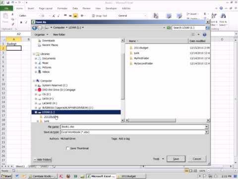 Office 2010 Class #02: Using Windows Explorer For File Management