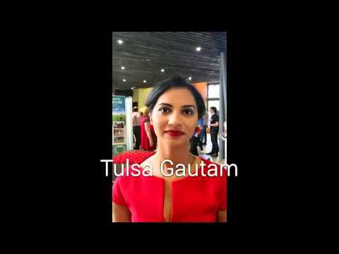 TedxJCUCairns chat w/ speaker Tulsa Gautam