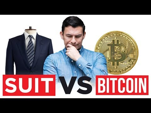 Invest $1000 In BitCoin Or New Suit?  Suits Vs Crypto Currency