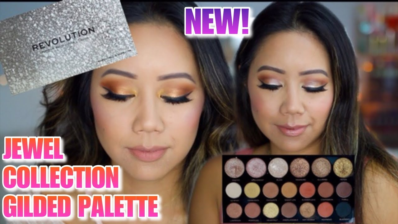 Makeup revolution jewel collection gilded