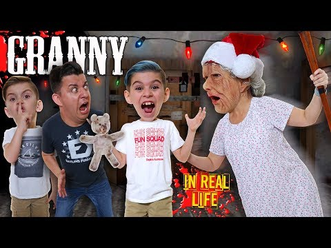 Granny In Real Life! Christmas Edition (Funhouse Family)