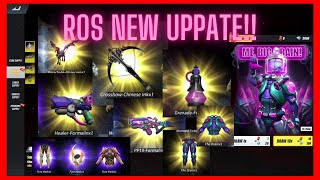 Ros New Update (april 21, 2021) New Pp19 Skin And Healer!!! Nakuha Natin Lahat!!