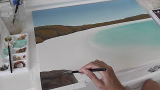 Diy Painting An Australian Beachscape