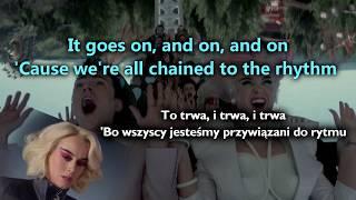 Katy Perry - Chained To The Rhythm ft. Skip Marley [ENG lyrics & tłumaczenie PL]