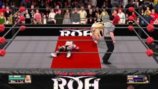 WWE 2K16 Holly Anderson  vs Melissa Clark