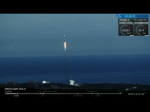 Raw Video: SpaceX Launches Record 64 Satellites In Vandenberg AFB Launch