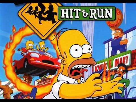 تحميل لعبة simpsons hit and run