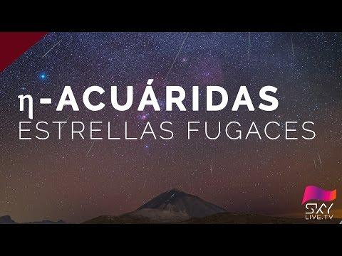 Lluvia de estrellas - Eta-Acuáridas 2017