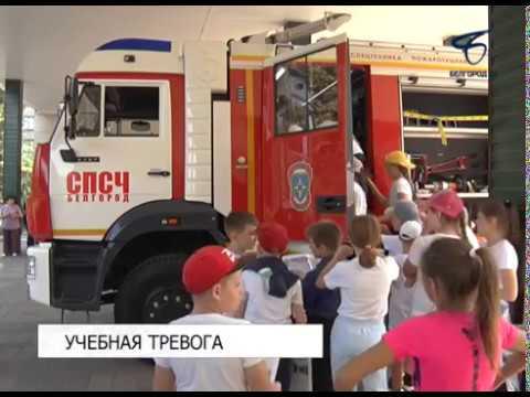 В 41-й школе Белгорода провели учебную эвакуацию