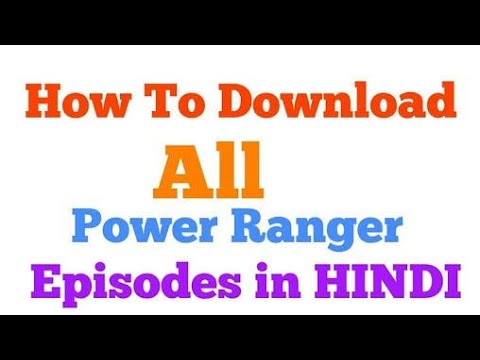 How To Download Power Ranger Mega Forse/ Watch Online Power Ranger Mega Force #power Ranger