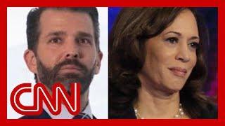 Trump Jr. sparks 'birther conspiracy' of Kamala Harris
