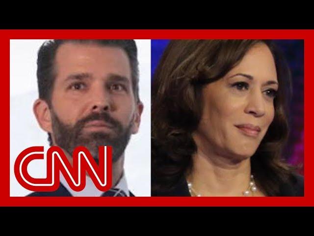 Trump Jr. sparks birther conspiracy of Kamala Harris