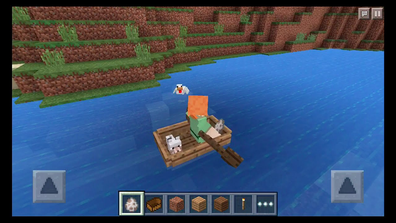 Minecraft Pe 0 11 0 Update Boat Ride With My Pet In Mcpe