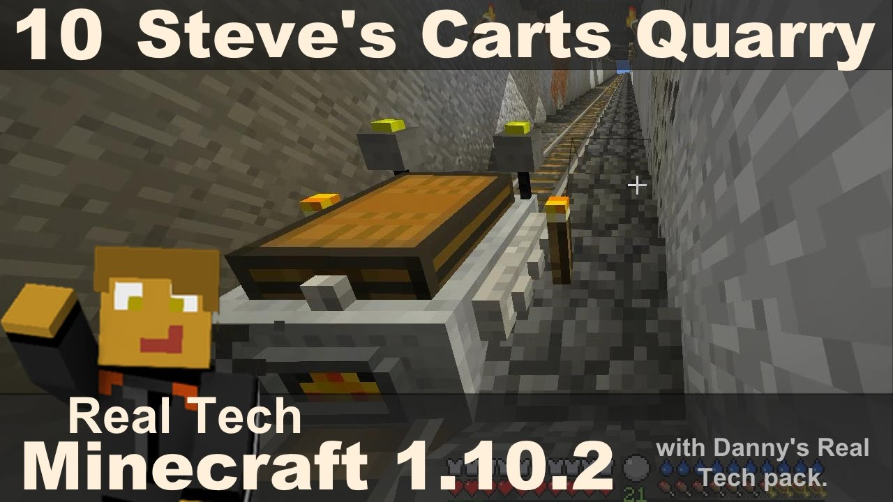 Real Tech 10 - Steve's Carts Quarry - Danny & Son