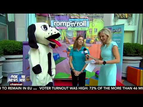 Gyroville Makes National Television Debut on Fox & Friends