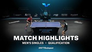 Aleksandr Tiutriumov vs Alexander Chen | WTT Contender Budapest 2021 (Qual)