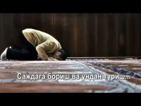 """Илҳомжон домла: """"Саждага бориш ва ундан туриш масаласи!"""""""
