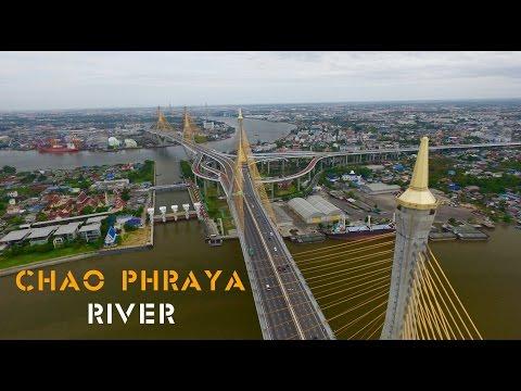 Chao Phraya River Drone footage : Phantom3