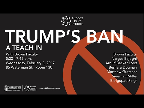 Trump's Ban: A Teach-In