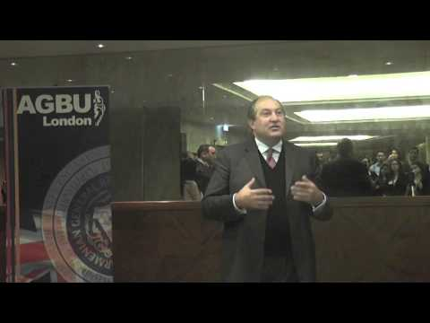 YP London's Annual Networking Event with Guest Speaker Dr. Armen Sarkissian