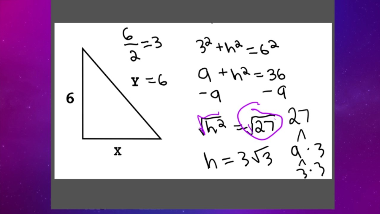 special right triangles 30 60 90 pdf