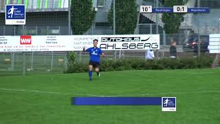 A-Junioren - 0:1  Marko Cabraja  - SSV Reutlingen 1905 Fußball vs SV Waldhof Mannheim