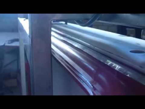 Aufblasbare Dichtung Fur Schiebeturen 3 D Youtube