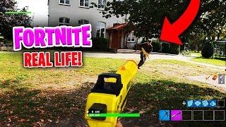 FORTNITE W PRAWDZIWYM ŻYCIU! (Fortnite in Real Life)