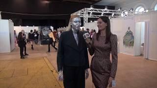 Интервью  модели Натальи  Клюкиной  на Mercedes Benz Fashion Week Russia