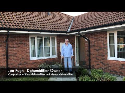 Ebac Dehumidifier vs Meaco Dehumidifier - Customer Testimonial