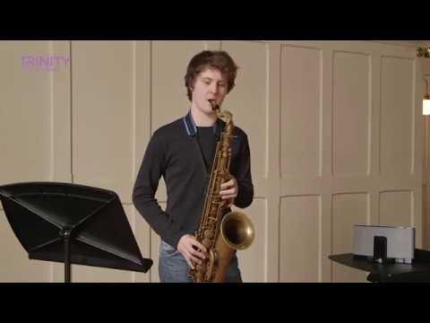 Trinity College London Grade 8 Jazz Saxophone Exam