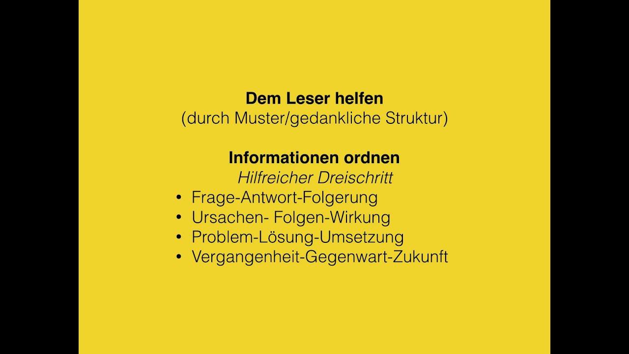 Abi/ Deutsch/ Materialgestütztes Schreiben/ informativer Texte - YouTube